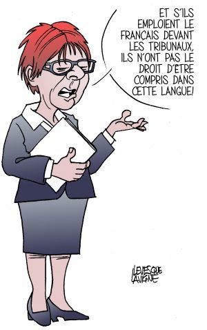 Alison Redford, ex ministre de la Justice et ex première ministre de l'Alberta